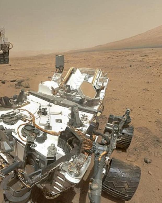 Mars Curiosity Rover.