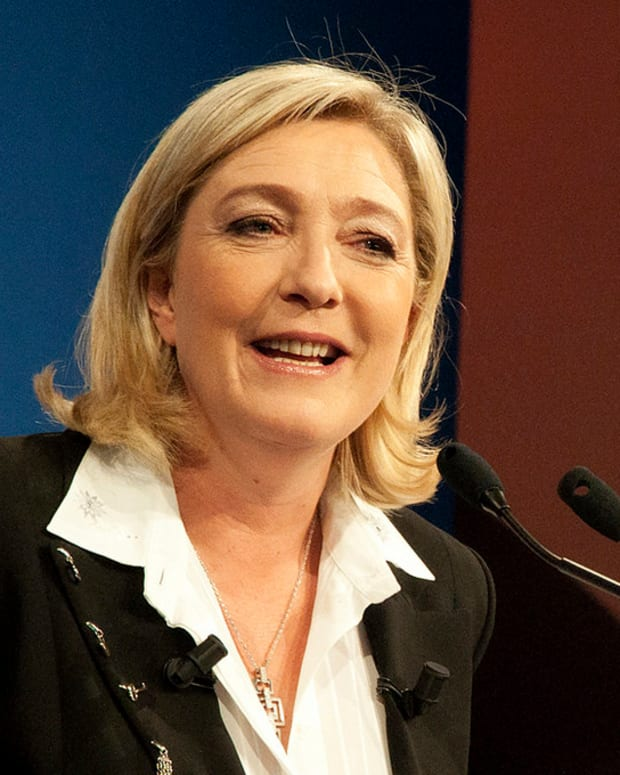 France's Marine Le Pen Charged Over Misuse Of EU Funds Promo Image