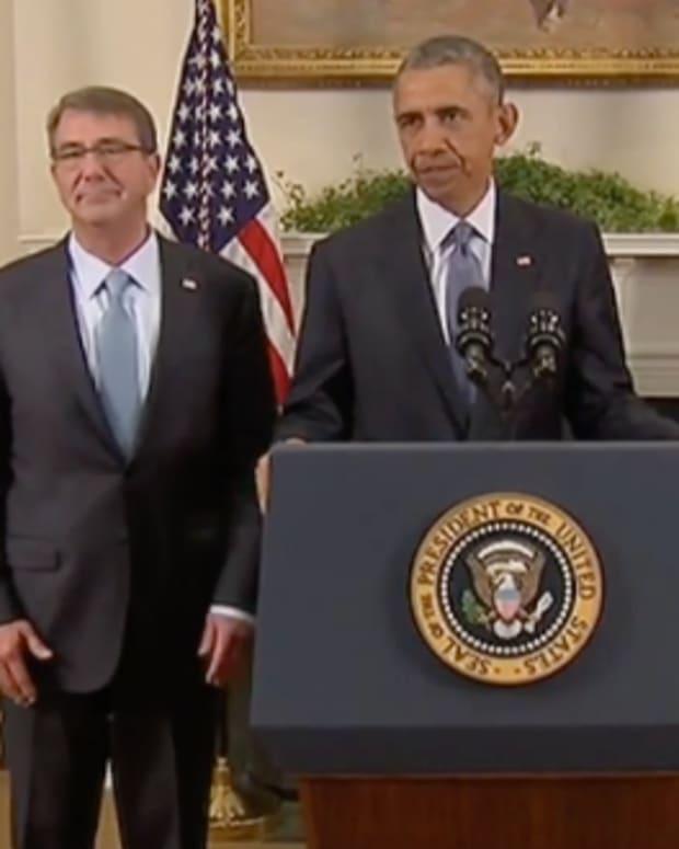 President Barack Obama in the Roosevelt Room