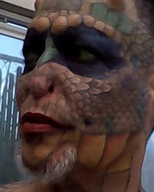 Body Modification: Becoming The 'Dragon Lady' (Photos) Promo Image