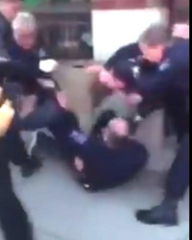 Cops Tackle, Use Stun Gun On Compliant Man (Video) Promo Image