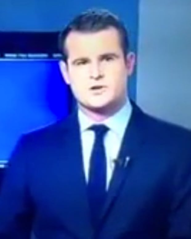 TV News Anchor Drops F-Bomb Accidentally (Video) Promo Image
