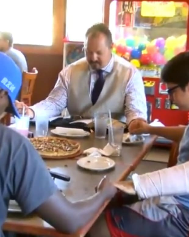 Christian Teacher Says He Was Fired For Faith (Video) Promo Image