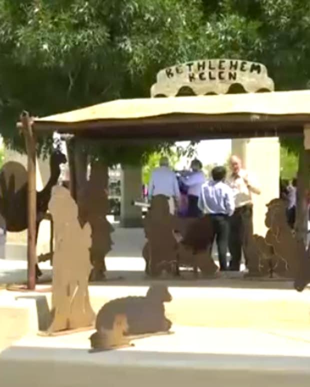 Nativity Scene Belen, New Mexico.