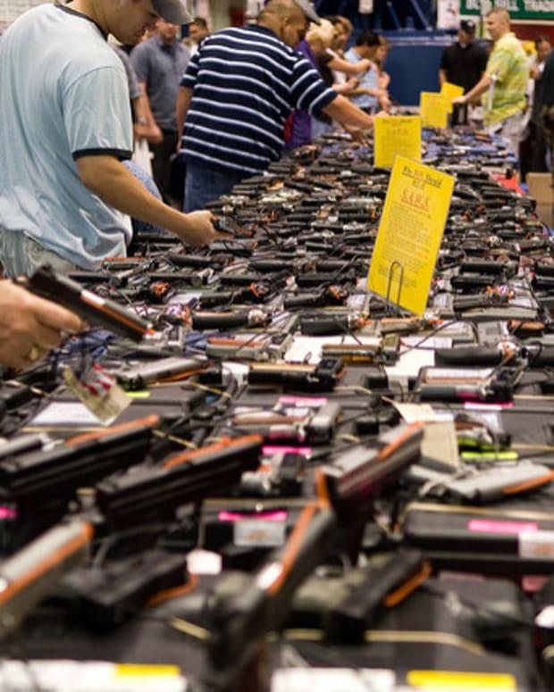 Senate Blocks Gun Control Bills Promo Image
