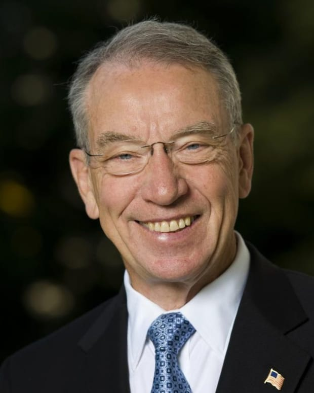 Republican Sen. Chuck Grassley of Iowa.