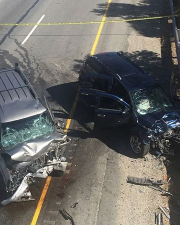 California High-Speed Chase Crash