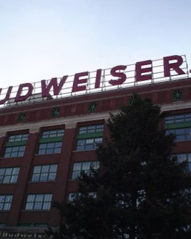 Budweiser Brewery in St. Louis