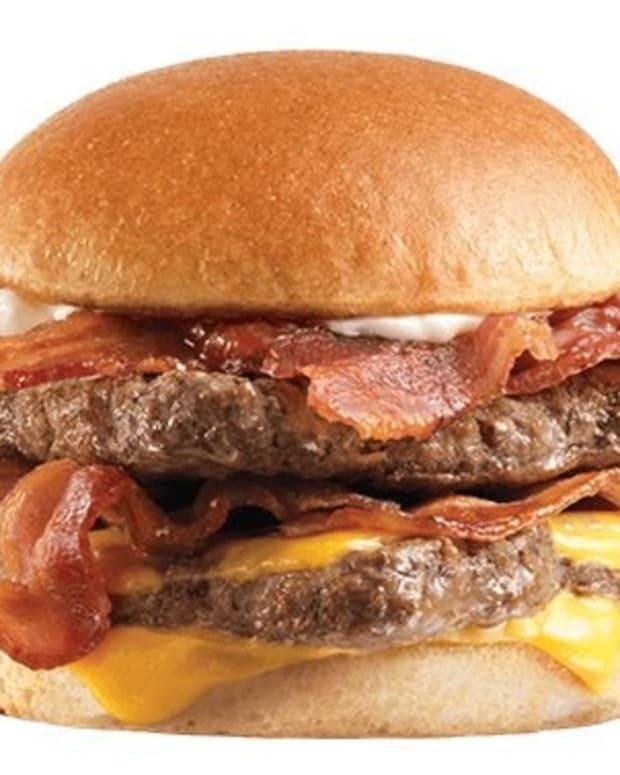 Man Hides Marijuana In Wendy's Cheeseburger Promo Image