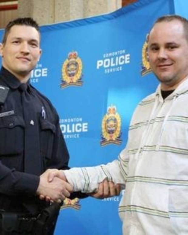 'I Just Reacted': Man Saves Police Officer From Attack Promo Image