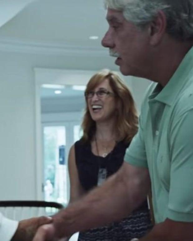 """Adler-O'Keefe in """"Best Friends"""" music video"""
