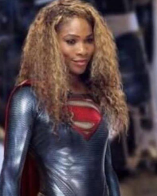Serena Williams As Supergirl.