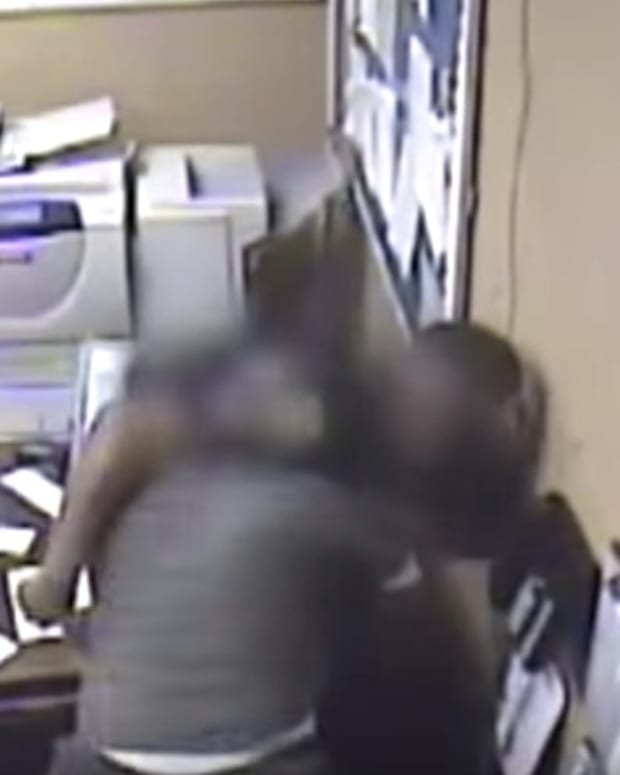 Inmate Attacks Alabama Prison Guard (Video) Promo Image