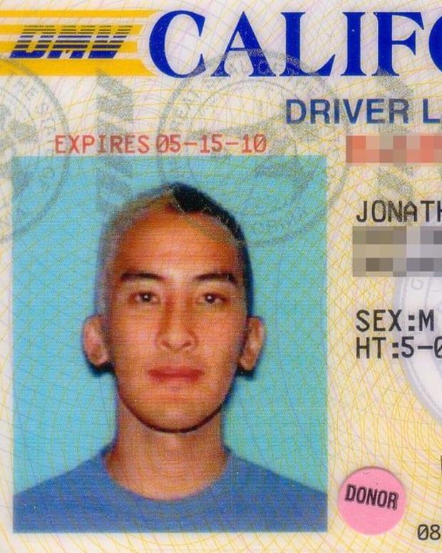 California Drivers License.