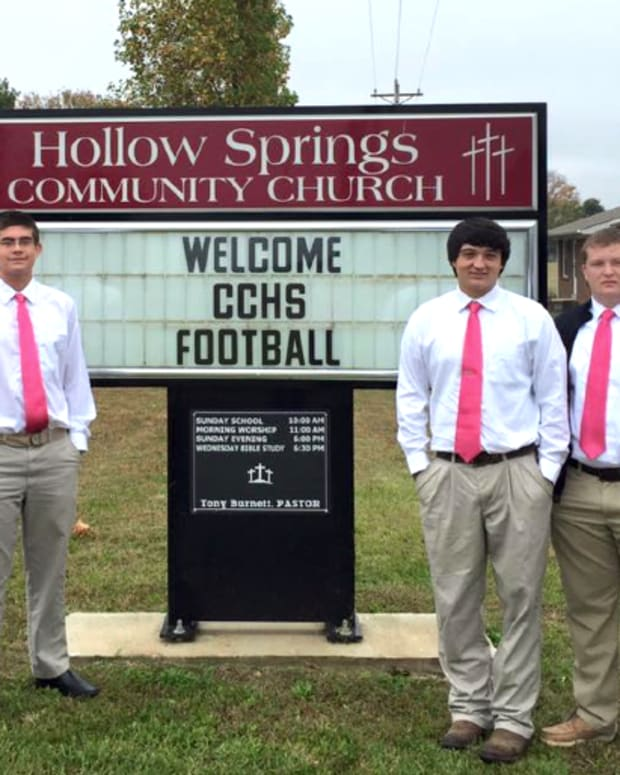 Cannon County Tennessee Football Players