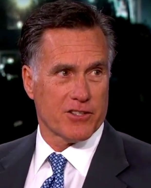 Mitt Romney Reads Donald Trump Mean Tweets (Video) Promo Image