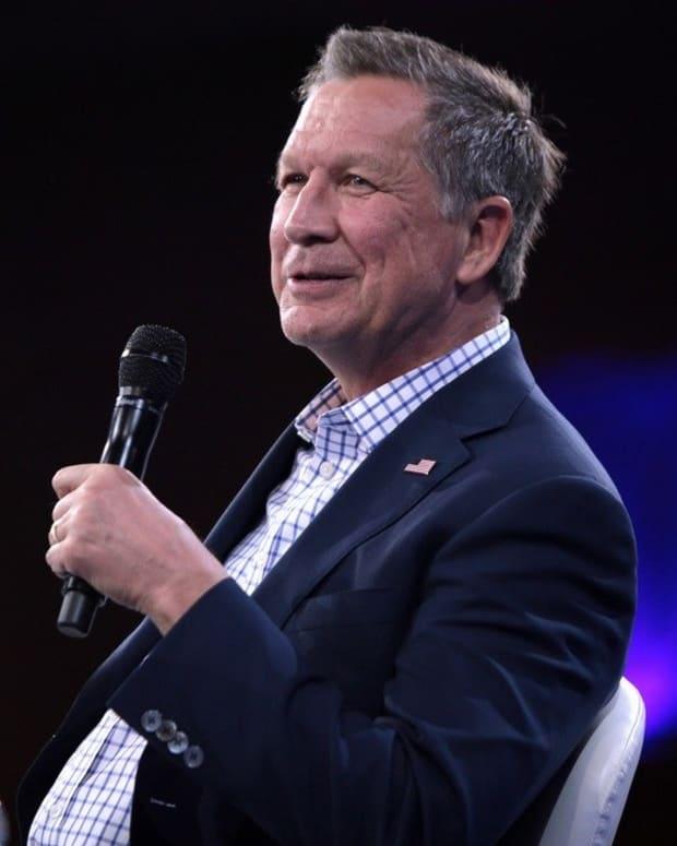 GOP Should Rally Around Kasich, Not Cruz Promo Image