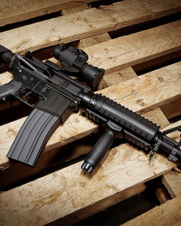 Supreme Court Leaves State Assault Weapon Bans In Place Promo Image