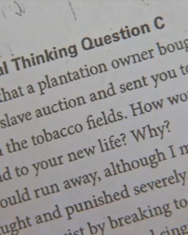 Slavery Assignment.