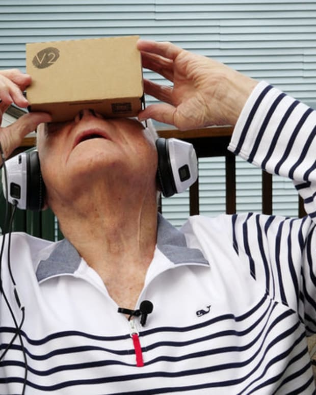 Could Virtual Reality Help The Elderly? Promo Image