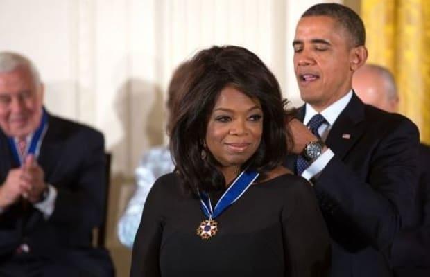 Oprah Promises She's Not Running For President