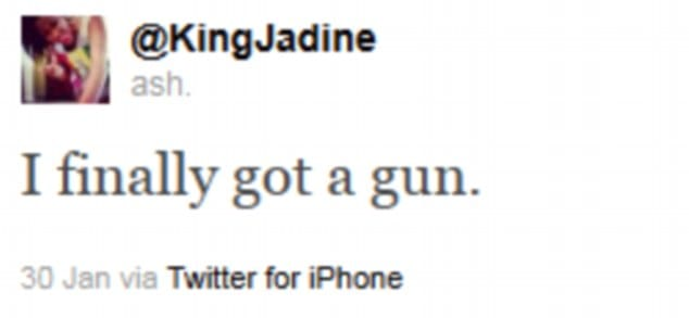 Ashley Duncan Posts Picture Of Gun Then Kills Self With