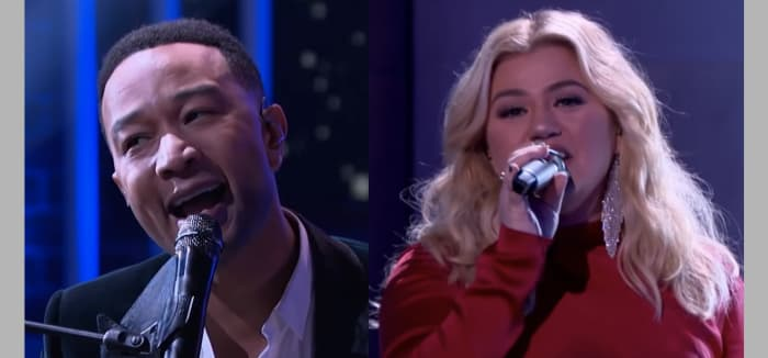 John Legend And Kelly Clarkson Face Backlash Over Remake Of 'Offensive' Christmas Song ...