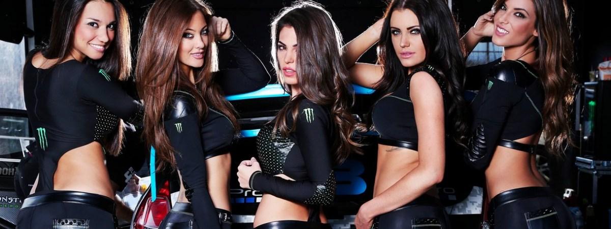 NASCAR Fans Upset Over Sexy Monster Energy Models