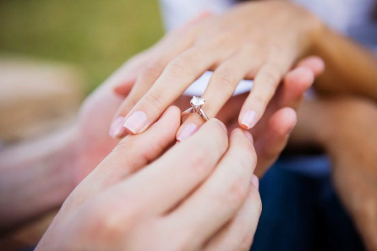 Woman\'s Engagement Ring Comment Sparks Outrage (Photo) - Opposing Views