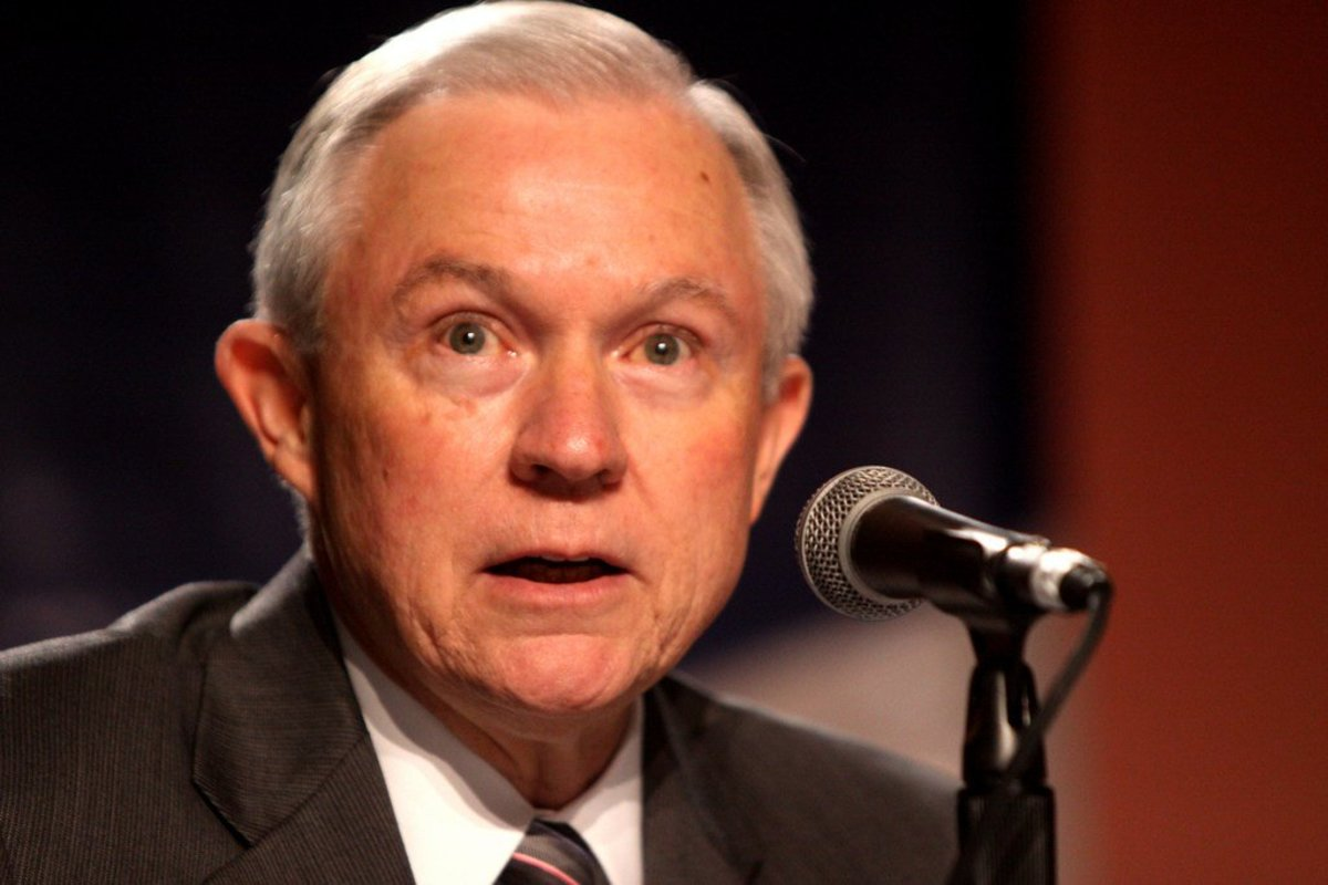 Students And Professors Protest Jeff Sessions Speech (Photos) Promo Image