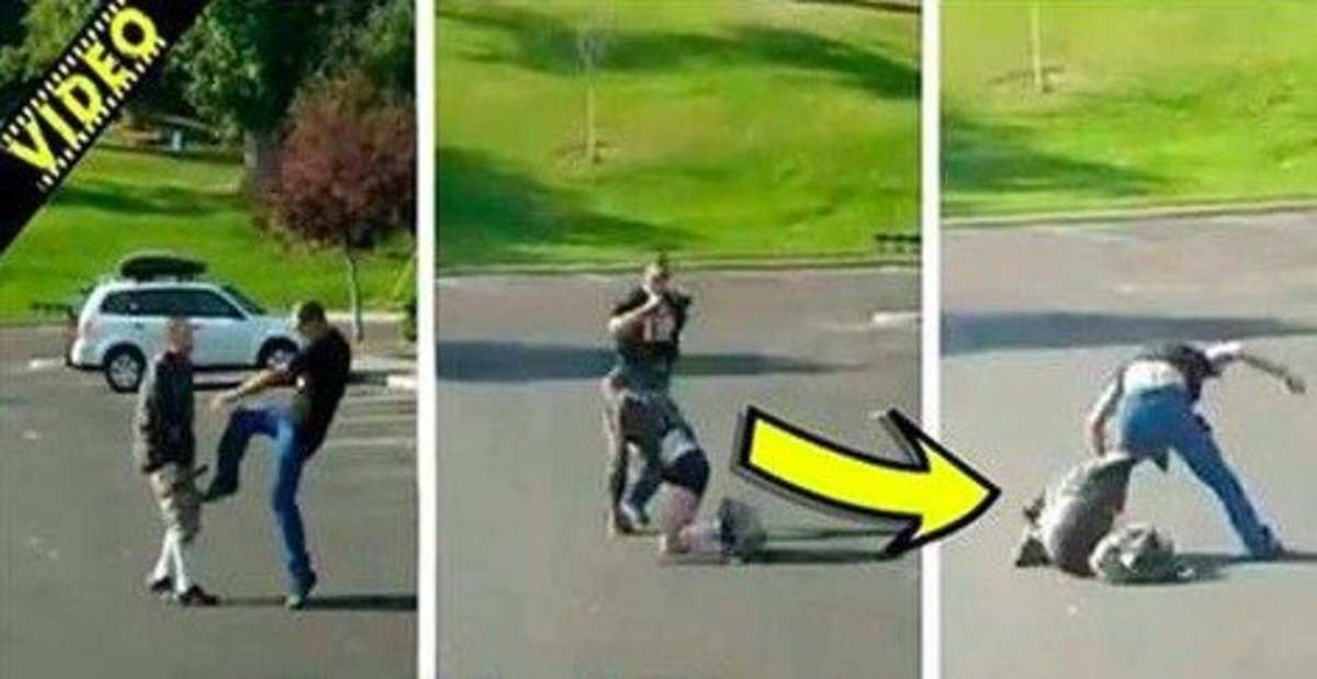 Creep Flashes His Genitals At Playground, Disgusted Dad Gives Him Instant Karma Promo Image