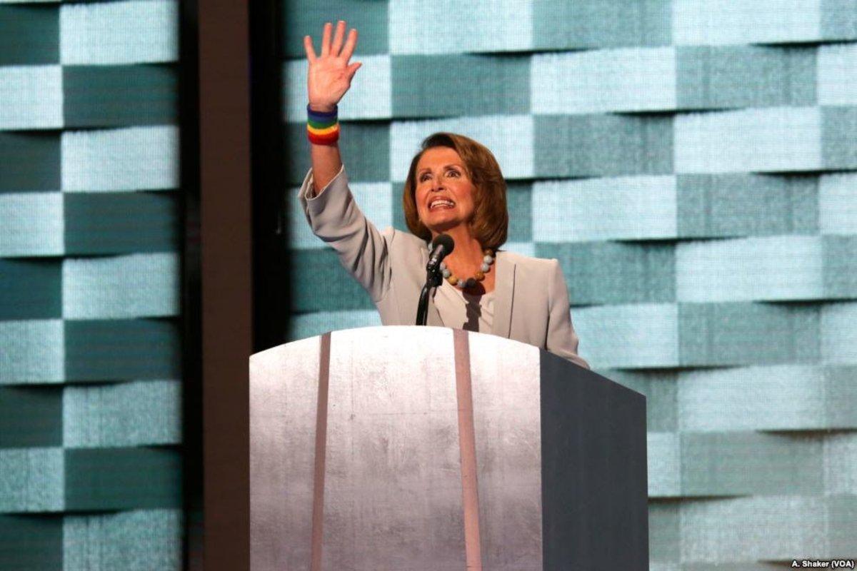 Pelosi: GOP Response To Tax Cut Passage 'Disturbing' Promo Image