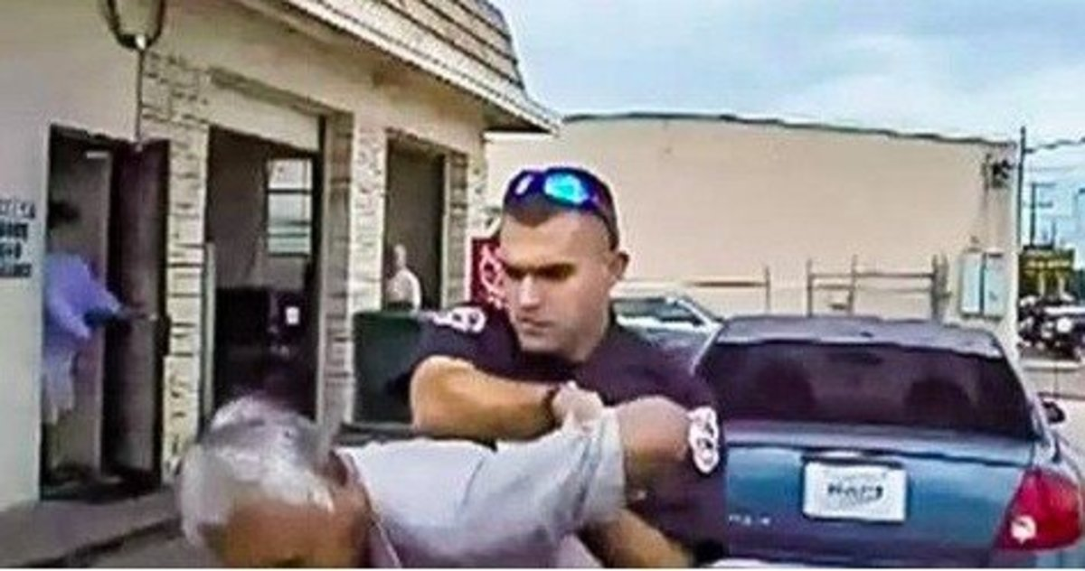76-Year-Old Man Tasered By Cop For Just One Simple Reason (Video) Promo Image