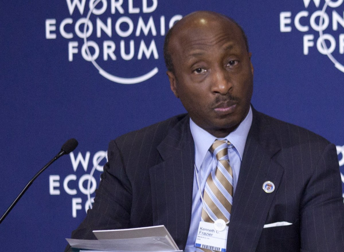 Merck CEO Steps Down From Trump Business Council Promo Image