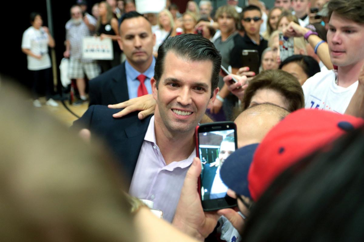 Report: Trump Jr. Is 'Miserable' Promo Image