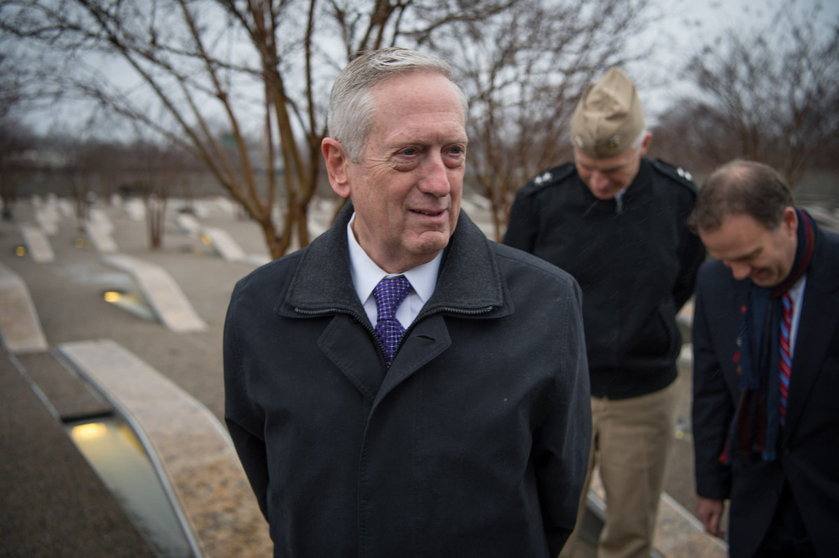 Report: Mattis 'Appalled' By Transgender Troop Ban Promo Image