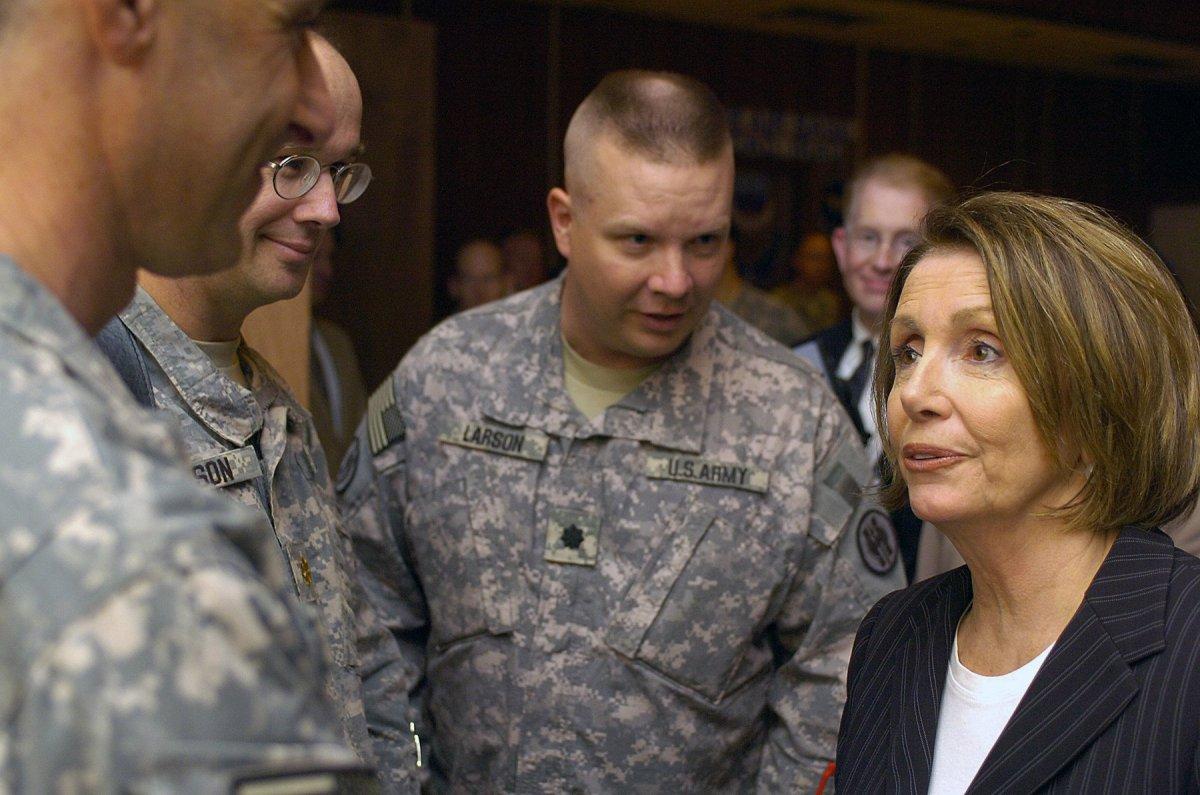 Nancy Pelosi's Expressions Go Viral (Video) Promo Image
