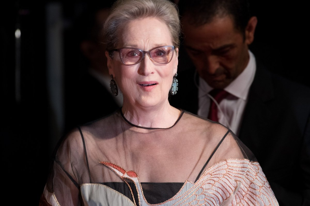 Mysterious Posters Accuse Meryl Streep Of Wrongdoing (Photos) Promo Image