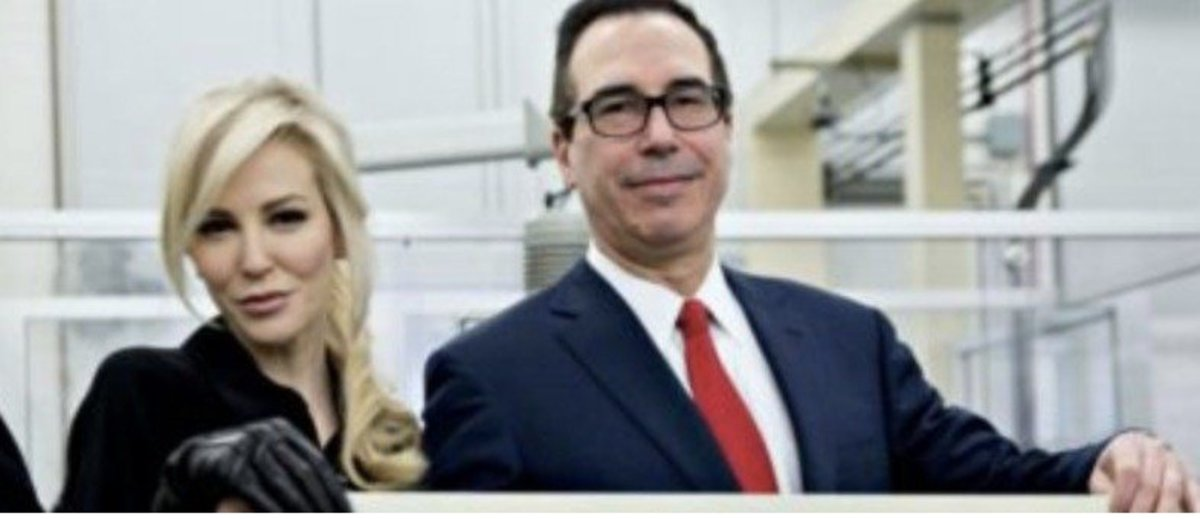 Treasury secretary and his wife mocked over recent picture (PHOTO) Promo Image