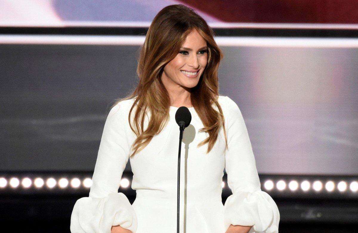 Melania Trump Gets Criticized For Anti-Bullying Speech Promo Image