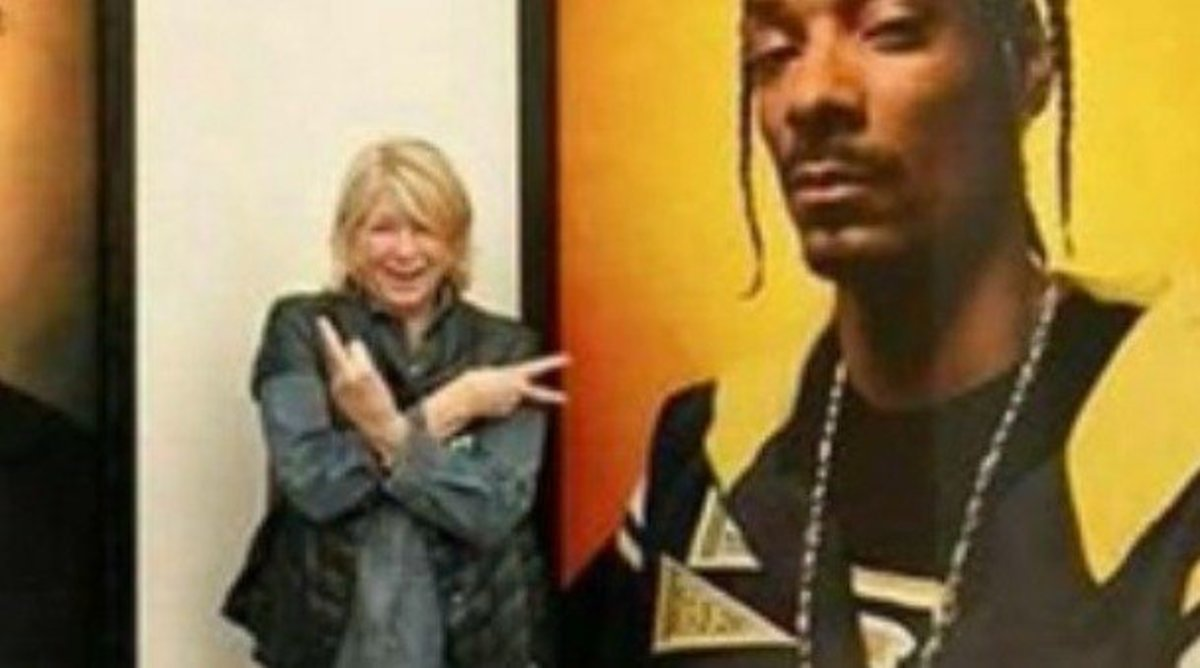Martha Stewart's 'Disrespectful' Trump Picture Sparks Outrage (Photo) Promo Image