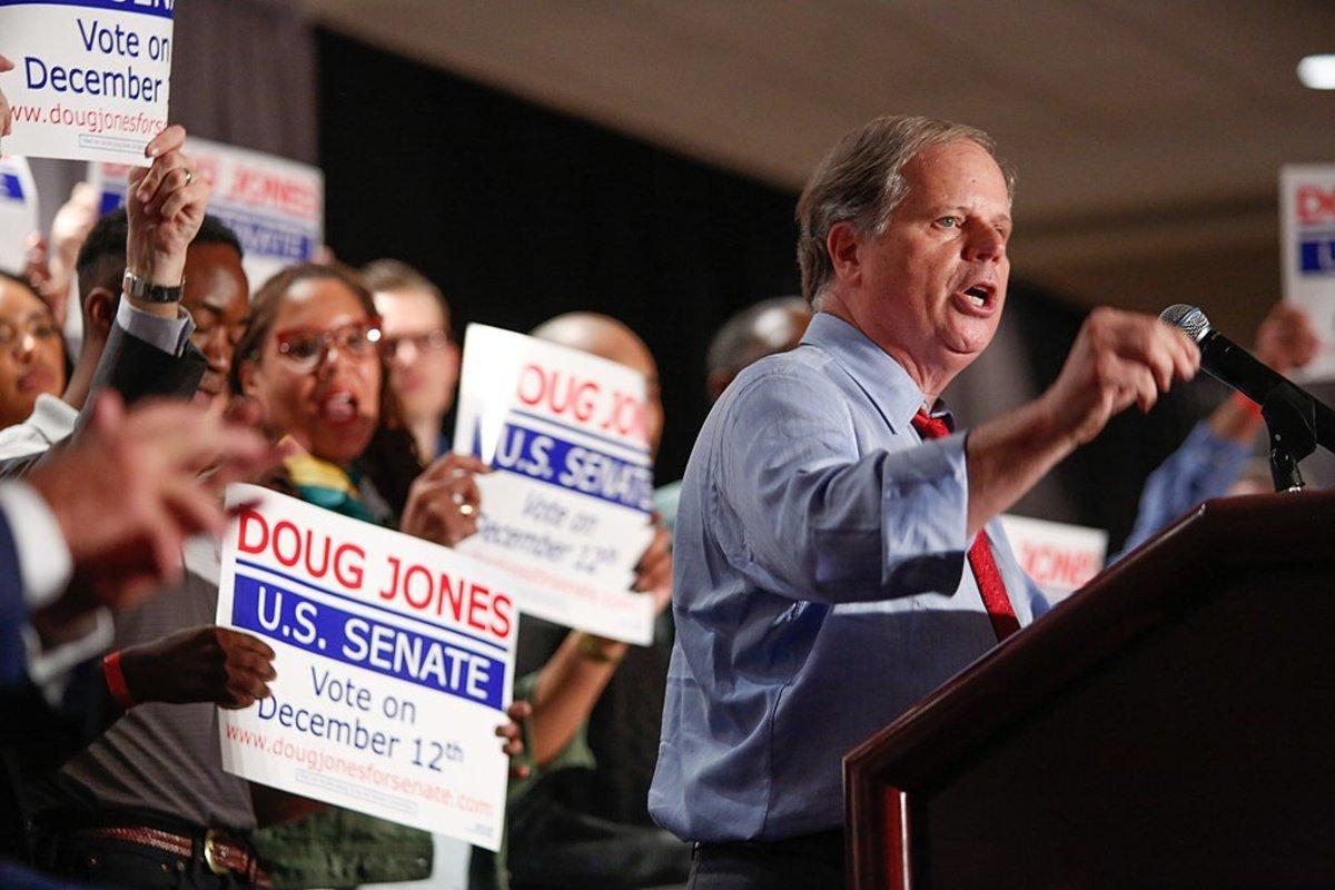 Doug Jones: Men Who Hurt Girls Belong In Jail Promo Image