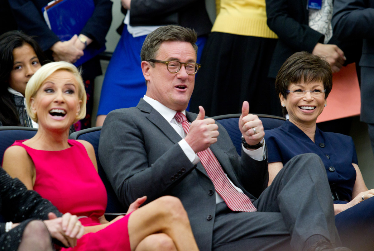 Joe Scarborough Leaves Republican Party (Video) Promo Image