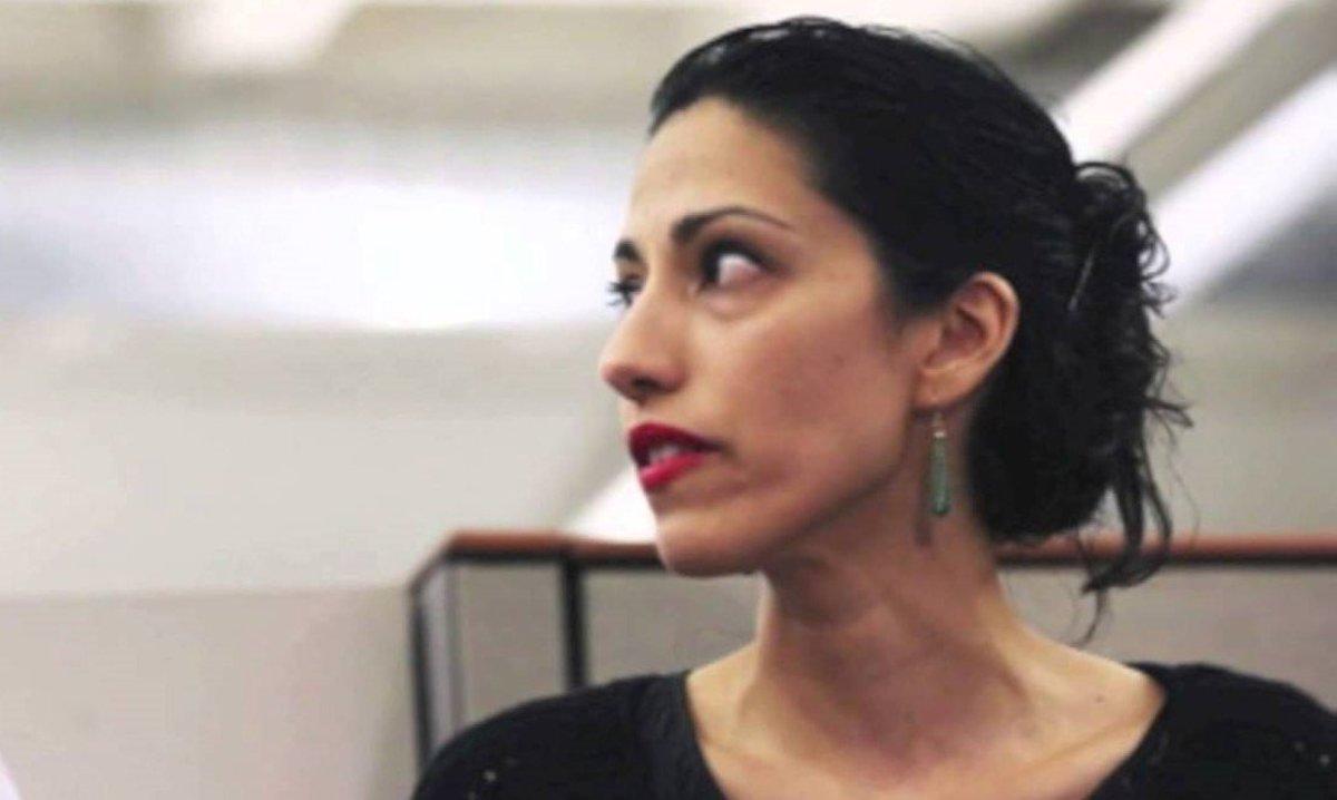 Anthony Weiner And Huma Abedin Cancel Divorce In Court Promo Image