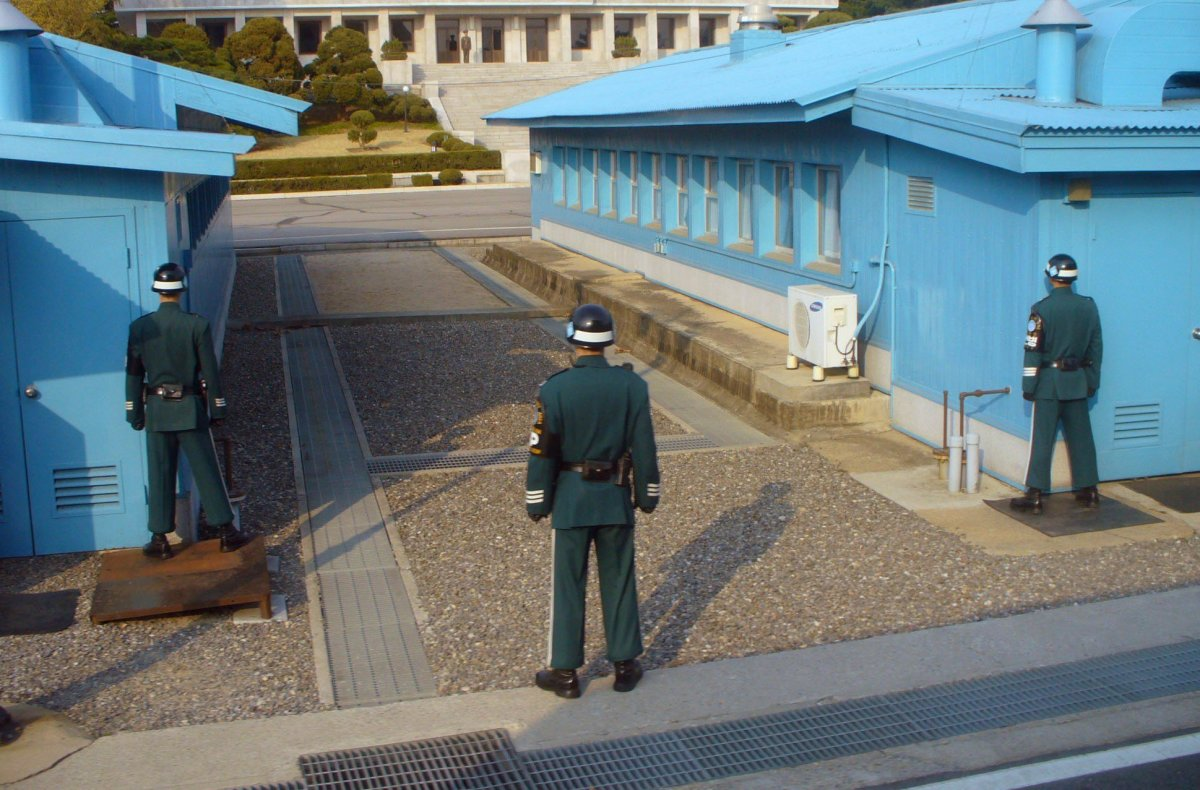 North Korean Soldier Successfully Defects Across DMZ Promo Image