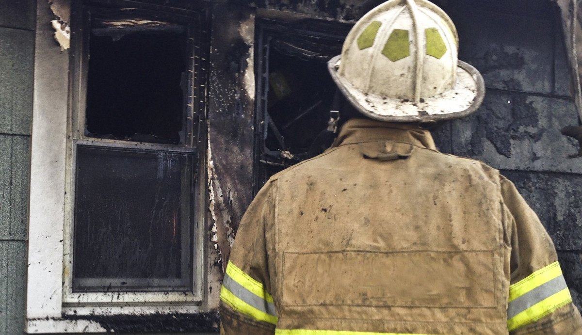 Father Allegedly Left Baby In Burning Apartment (Photos) Promo Image