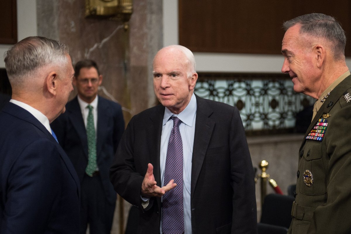 McCain To Miss Tax Vote After Brain Cancer Treatment Promo Image