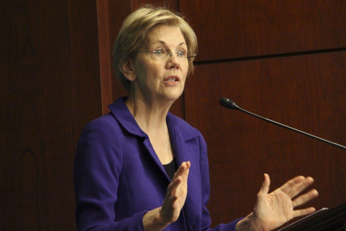 Warren Responds To Trump's 'Pocahontas' Comment Promo Image