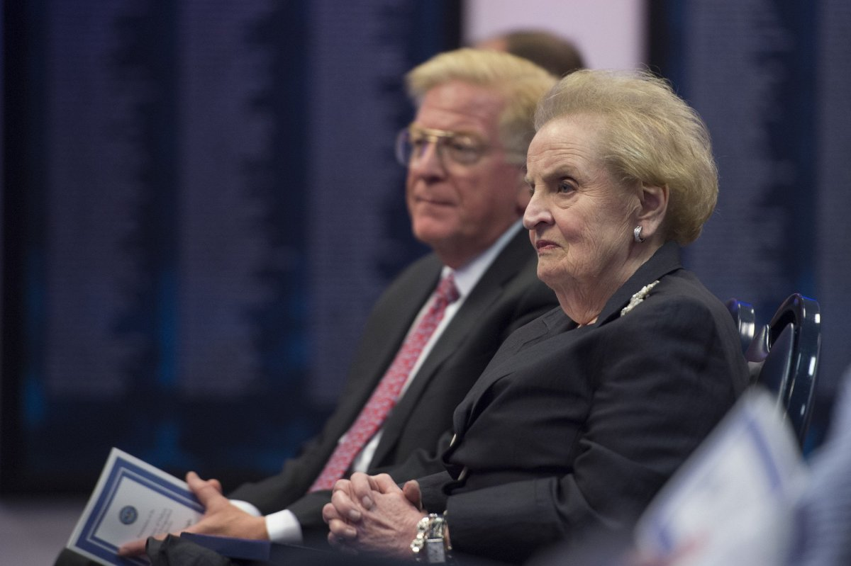 Albright To Trump: Quit Blaming Obama For Everything Promo Image