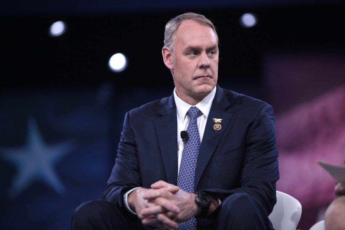 Interior Secretary Zinke Spent $12,000 On Private Jet Promo Image
